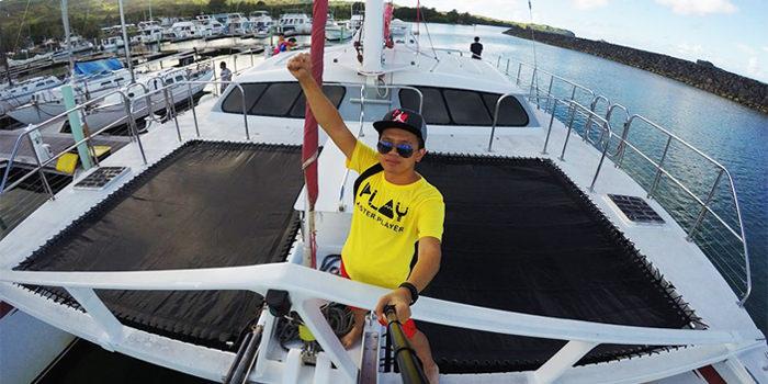 「遊」關島必玩。美人魚公主號 – 航向大海 浮潛 釣魚 海豚追蹤 